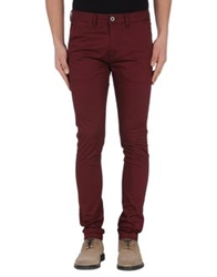 Dr. Denim Jeansmakers Casual Pants Maroon