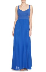 Women's Cece By Cynthia Steffe 'Jasmine' Scuba And Crepe Gown