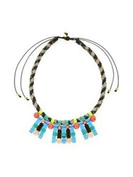 Nocturne Blake Blue Necklace Multi