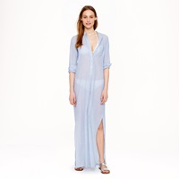 Nili Lotan For J.Crew Striped Long Tunic