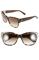 Bobbi Brown 'The Veronika' 57Mm Sunglasses Camel Tortosie