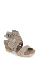 Women's Otbt 'Take Off' Sandal Stone Leather