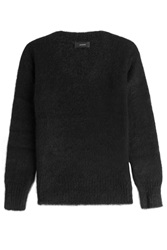 Joseph Knit Pullover With Wool Alpaca And Mohair Black