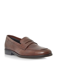 Dune Ramsey Penny Loafers Tan