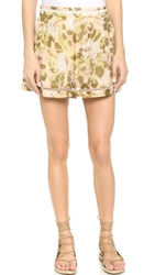 Zimmermann Admire Flare Shorts Floral