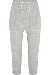 Nlst Cotton Jersey Track Pants Gray