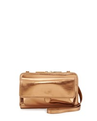 Hobo Abrielle Crossbody Bag Mirror Bronze