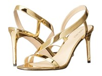 Nine West Rhyan 3 Gold Synthetic Women's Shoes