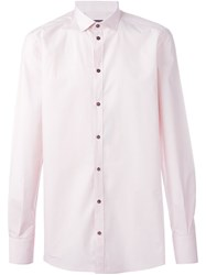 Dolce And Gabbana Classic Casual Shirt Pink And Purple