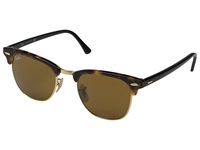 Ray Ban Clubmaster 49Mm Havana Spotted Brown Fashion Sunglasses
