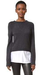 Kaufman Franco Sweater With Tank Charcoal