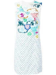Peter Pilotto Floral Print Shift Dress Multicolour