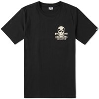 Bounty Hunter 17Th Skull Tee Black
