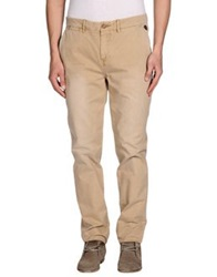 Red Soul Casual Pants Beige