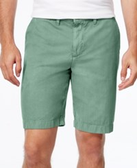 Tommy Hilfiger Men's Classic Fit Chino Shorts Frosted Ivy