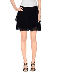 Paola Frani Skirts Mini Skirts Women Black