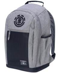 Element Men's Sparker Premium Coloblocked Backpack Grey