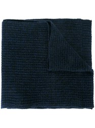 Lanvin Knitted Scarf Black