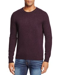 Bloomingdale's The Men's Store At Cashmere Crewneck Sweater Raisin