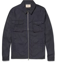 Folk Shell Jacket Blue