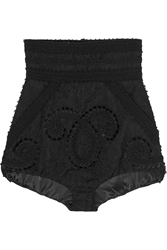 Dolce And Gabbana Embroidered Jacquard Shorts