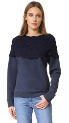 Michaela Buerger Sweatshirt Dark Blue