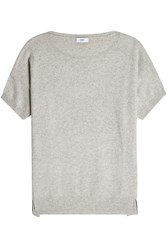 Closed Short Sleeved Knit With Wool And Cashmere Grey