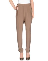 Lanvin Trousers Casual Trousers Women Khaki