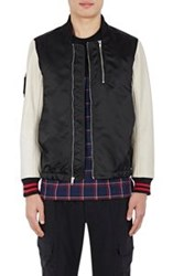 Westbrook Xo Barneys New York X Tim Coppens Tech Satin And Leather Bombe Black