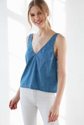 Bdg Chambray Ray Tank Top Indigo