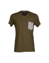 Revolution T Shirts Military Green