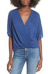 Lovers Friends Women's 'Sweet Talker' Surplice Blouse