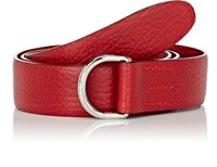 Felisi Men's Grained Leather Belt Red