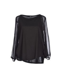 .Tessa T Shirts Black