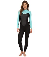 Rip Curl Omega 3 2 Full Suit Black Blue Women's Wetsuits One Piece