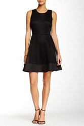 Romeo And Juliet Couture Sleeveless Net Fit And Flare Dress Black