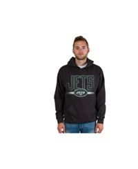 Authentic Nfl Apparel Men's New York Jets Ice Cold Hoodie