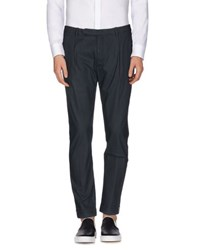 Paolo Pecora Trousers Casual Trousers Men Dark Blue