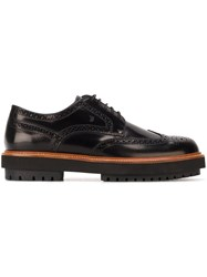 Tod's Chunky Sole Brogues Black