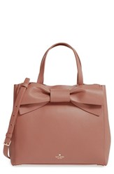 Kate Spade New York Olive Drive Brigette Leather Satchel Brown Rustic Toffee