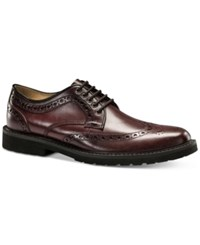 Dockers Men's Benfield Oxfords Men's Shoes Burgundy