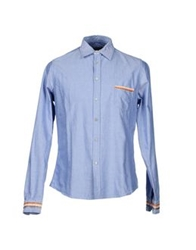 Master Coat Shirts Sky Blue