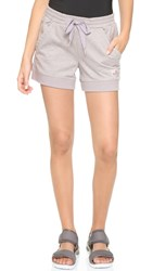 Adidas By Stella Mccartney Essentials Knit Shorts Frost Seed Pearl