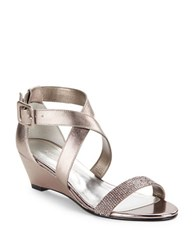 Caparros Blair Wedge Sandals Beige