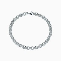 Tiffany And Co. Link Chain In Sterling Silver Large.