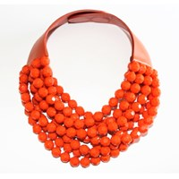 Fairchild Baldwin The Bella Necklace Tangerine