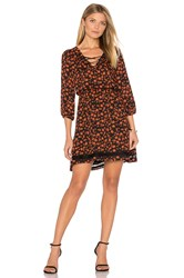 Bb Dakota Jack By Vanderwood Mini Dress Rust