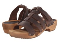 Sanita Fatu Round Flex Sandal Antique Brown Women's Sandals