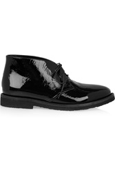 Alaia Patent Leather Desert Boots