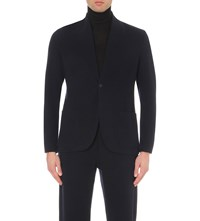 Kilgour Wool And Cashmere Blend Jacket Dark Navy